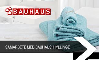 Samarbete med Bauhaus: Hyllinge