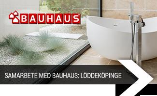 Samarbete med Bauhaus: Löddeköpinge